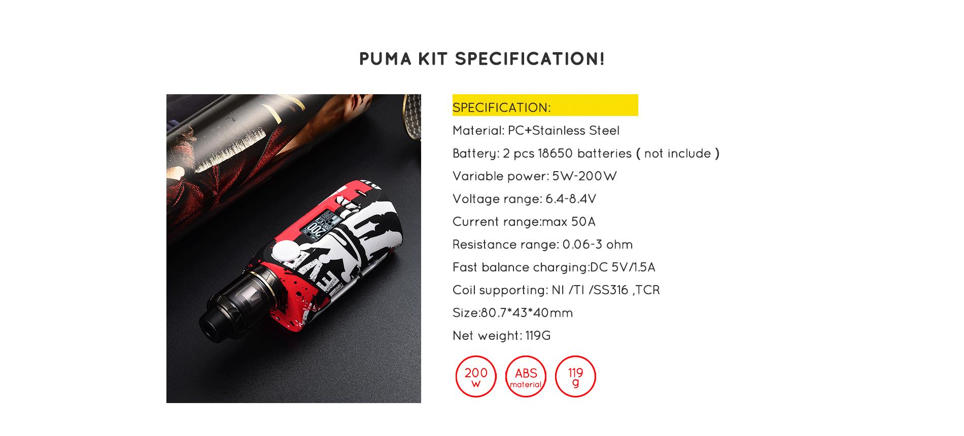 Puma kit